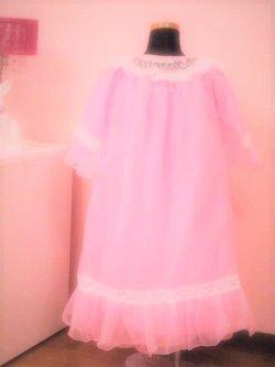 画像2:  <ピンク>フリフリ★キッズ姫系ネグリジェM